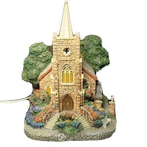 Thomas Kinkade Hawthorne Village Windermer Church